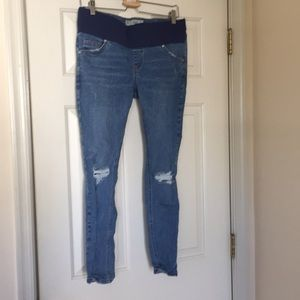 Unworn Maternity Topshop Jamie jeans size 10